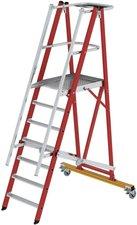 Steigtechnik Kunststoff Podestleiter 7 Stufen 52203