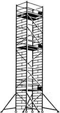 Hymer Fahrgerüst mit Ausleger 6373/11
