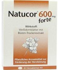 Rodisma Natucor 600 mg Forte Filmtabletten (20 Stk.)