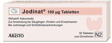 Lindopharm Jodinat 100ug Tabletten (50 Stk.)