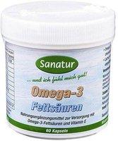 Sanatur Omega 3 Fettsaeuren 500 mg Kapseln (60 Stk.)