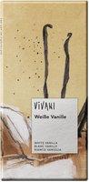 Vivani Weisse Vanille Schokolade (100 g)