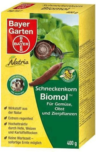 Bayer Garten Natria Schneckenkorn Biomol 400 g