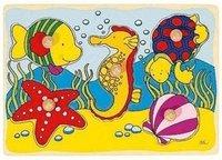 goki Steckpuzzle Seepferdchen