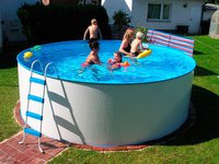 Summer Fun Standard Rundform-Aufstellbecken 360x90cm