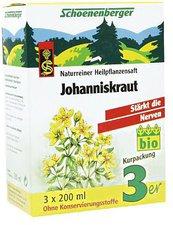 Schoenenberger Johanniskraut-Saft (3x200 ml)