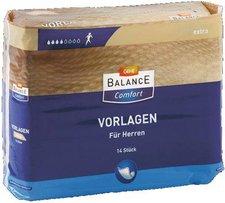GEHE Balance Vorlagen extra f. Herren 6 x 14 Stk.