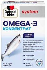 Doppelherz Omega 3 Konzentrat System Kapseln (60 Stk.)