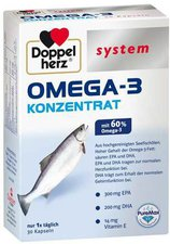 Doppelherz Omega 3 Konzentrat System Kapseln (30 Stk.)