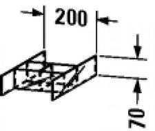 Duravit PuraVida 9920 Glaseinteilung