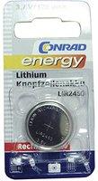 Conrad Energy Lithium-Knopfzellenakku LIR2450