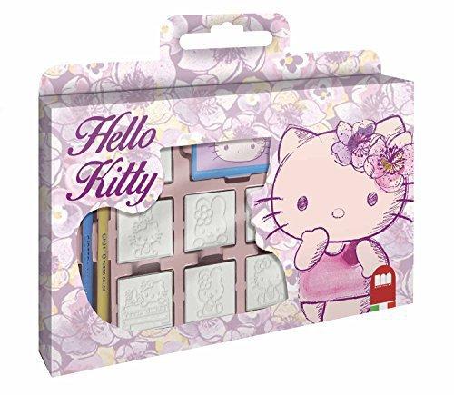 Noris Hello Kitty Stempelset im Köfferchen