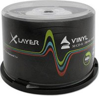 Xlayer CD-R 700MB 80min 48x 50er Spindel