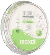 Maxell DVD+R DL 8,5GB 240min 8x bedruckbar 10er Spindel