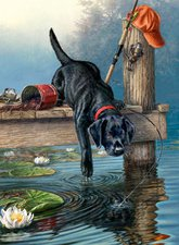 Mammut Malen nach Zahlen Artists Collection klein - Hund