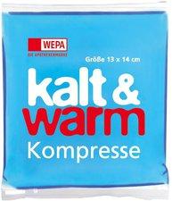WEPA Kalt-warm Kompresse 13x14cm (1 Stk.)