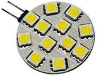 Bioledex 12 LED 2,4W HighPower G4 Warmweiß 120 °