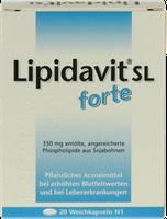 Rodisma Lipidavit Sl Forte Kapseln (20 Stk.)