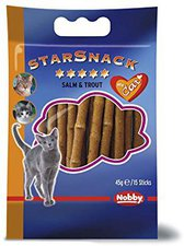 Nobby Starsnack Sticks Salm & Trout (45 g)