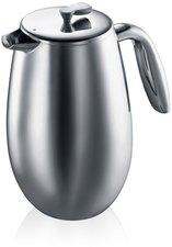 Bodum Columbia Kaffeebereiter 1,0 Ltr. poliert