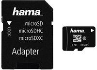 Hama microSDHC Card 8 GB Class 6