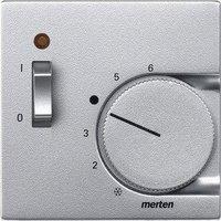 Merten Zentralplatte für Raumtemperaturregler-Einsatz mit Schalter (536160)