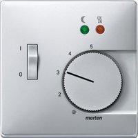 Merten Zentralplatte für Fußbodentemperaturregler-Einsatz mit Schalter (537560)