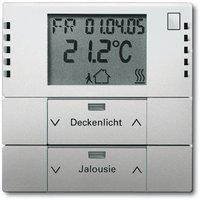 Busch-Jaeger Raumtemperaturregler mit Tastsensor 2fach (6128-866-101)