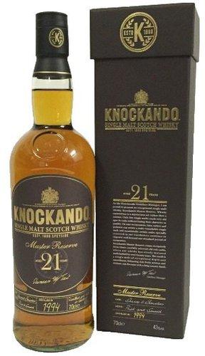 Knockando Master Reserve 21 years 43%