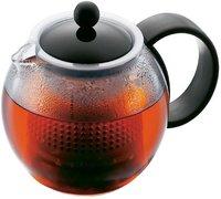 Bodum Assam Teebereiter mit Kunststofffilter und -deckel 0,5 L