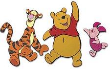 Decofun Wanddeko 3 teilig Winnie the Pooh