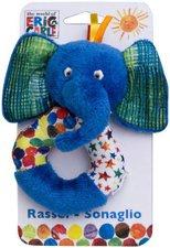 Joy Toy Kleine Raupe Nimmersatt Elefant Rassel (551262)