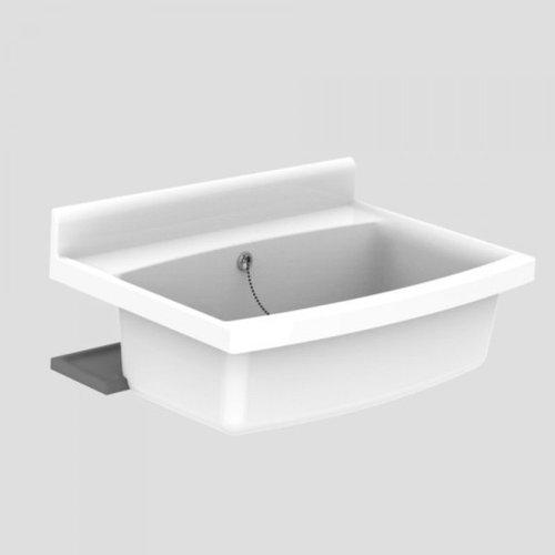 Abusanitair Maxi Becken mit Überlauf 70 x 50 cm (60.007) [110450]