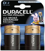 Duracell 2x Ultra Power D Mono MX1300 (DUR002906)
