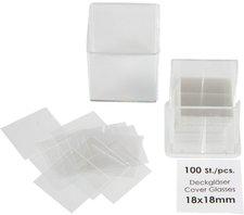 CareLine Deckgläser 18 x 18 mm (100 Stk.)