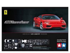 Tamiya Ferrari 360 Modena rote Version (24298)