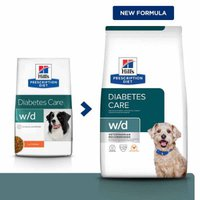Hills Prescription Diet Canine w/d With Chicken (12 kg)