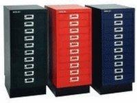 Bisley Schubladenschrank DIN A4 ohne Schloss (089)