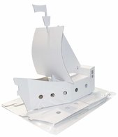 Joy Pac White Line Piratenschiff