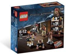 LEGO Pirates of the Caribbean Die Kapitänskabine 4191