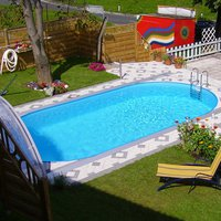 Pool Friends Poolset Styria oval 800x400x120cm