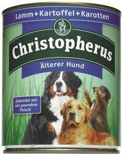 Allco Christopherus Älterer Hund Lamm, Kartoffeln & Karotten (800 g)