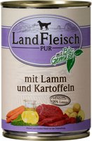 Dr. Alder's Landfleisch Pur Lamm & Kartoffel (400 g)