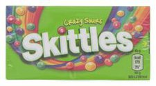 Wrigley Skittles Crazy Sours Box (45 g)