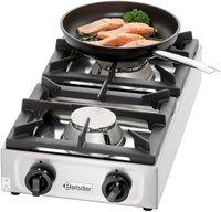 Bartscher 2-Flammen Gas-Tischkocher 1057503