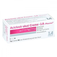 1A Pharma Aciclovir Akut Creme (2 g)
