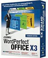 Corel WordPerfect Office X3 Standard (Win) (DE)