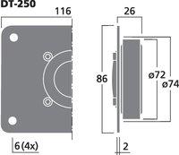 StageLine DT-250