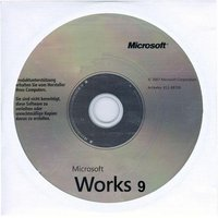 Microsoft Works 9.0 OEM (Win) (DE)