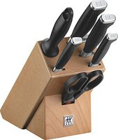 Zwilling Twin Four Star II Messerblock 7 tlg. natur